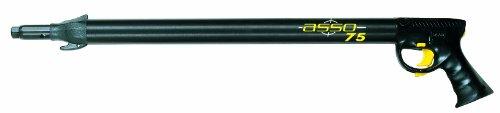 Seac Asso S/R, Fucile Subacqueo Pneumatico ad Aria Compressa per Pesca Sub, Nero, 50 cm