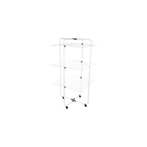 Gimi Adapto 3 Turm-Wäscheständer aus Stahl, 30 m Trockenlänge