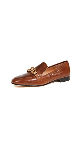 Leather: Crinkled sheepskin Leather sole with rubber heel cap Lightly cushioned leather footbed, Statement horse head hardware