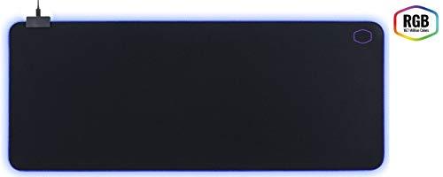 Cooler Master - MP750 - Tapis De Souris Gaming Souple RGB - Taille XL (940 x 380 x 3 mm) Résitant A L'Eau/Transpiration - Base Anti-Dérapante - Noir