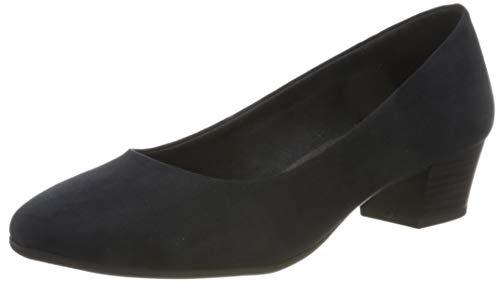 MARCO TOZZI 2-2-22305-35, Zapatos de tacón con Punta Cerrada Mujer, Azul Marino, 41 EU