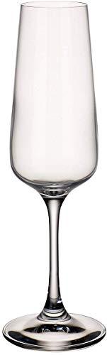 Villeroy & Boch Ovid Flûte, 250 ml, Cristallo, Trasparente, Set di 4