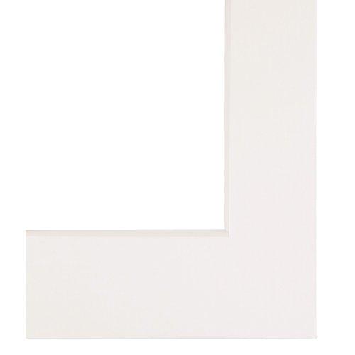 Hama Premium Passepartout (30 x 40 cm, für Bilder im Format 20 x 30) artkisweiß