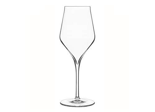 Luigi Bormioli 7540460 Supremo, Scatola di 6Bicchieri da Vino in Cristallo Trasparente 8,1x 8,1x 22,1cm
