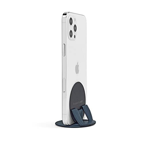 新商品 MOFT O Snap スマホスタンド&グリップ 丸型 iPhone iPhone11 iPhone12 全機種対応 (Blue)