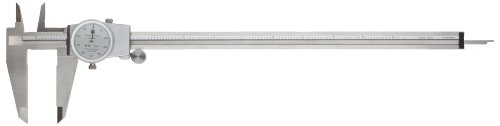 Brown & Sharpe 599 Series Dial Caliper, Stainless Steel,...