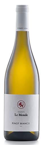 Le Monde - Vino Pinot Bianco Doc Friuli Grave - 2014-1 Bottiglia da 750 ml