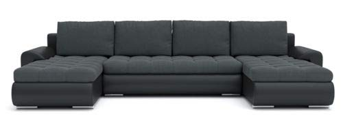 Sofini Ecksofa Tokio III mit Schlaffunktion! Best ECKSOFA! Couch mit Bettkästen! (Cas 574+ Soft 11)
