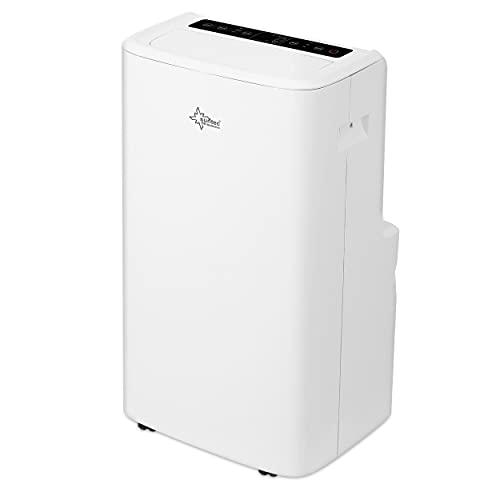 SUNTEC Climatiseur Mobile IMPULS Eco R290-7000/9000 /12000 BTU Climatiseur Portables, Ventilateur, Déshumidificateur, Set Isolation fenêtre, Tuyau d'évacuation (Impuls 3.5 Eco R290-12000 BTU)