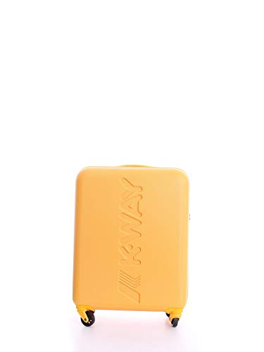 Trolley Rigido 55cm 4 Ruote Cabina | K-Way | 8AKK1G010C0-Yellow