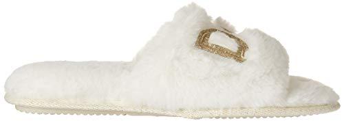 Dearfoams Women's Bridal I Do & I Do Crew Giftable Slide Slipper