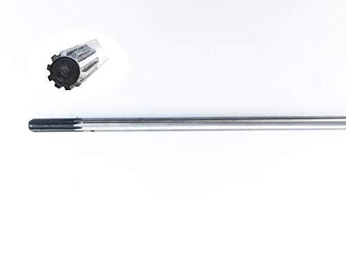 Doctor Machine Asta di Trasmissione per Decespugliatore 52cc Lunghezza 1520mm 9 Denti Diametro 8mm