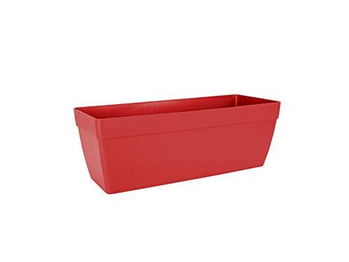 Capri Fioriera 50 cm Rosso Scuro