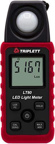 Triplett LT80 LED Illuminance/Light Meter up to...