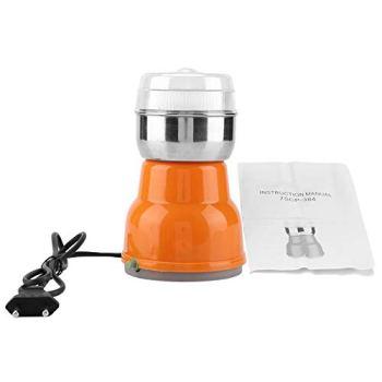 Bopfimer Moulin à café électrique en acier inoxydable - Pour la maison, le café, la machine à café - Accessoire prise EU