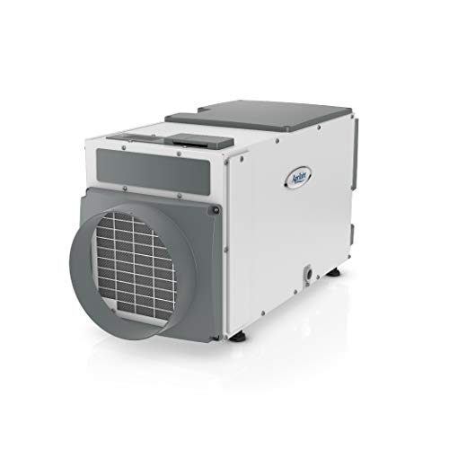 Aprilaire 1830 Pro Basement Dehumidifier, 70 Pint Commercial Dehumidifier for Basements up to 3,800 sq. ft.,Gray