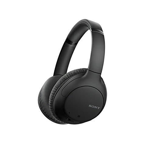 Headphone Sony WH-CH710N Preto sem fio Bluetooth com Noise Cancelling e microfone, Grande