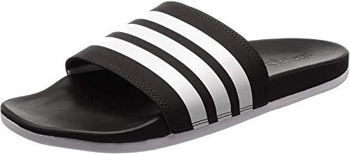 Adidas Adilette Comfort, Zapatos de Playa y Piscina Hombre, Negro (Core Black/Footwear White/Core Black 0), 46 EU