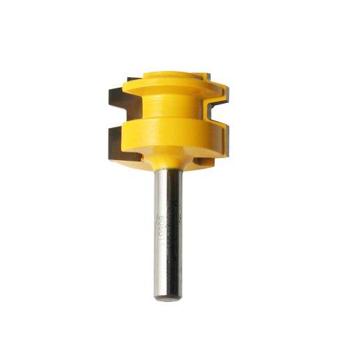 Kempston 605011 Drawer Lock Bit, 1/4-Inch Shank, 1-1/16-Inch Cutting Diameter, 3/4-Inch Cutting Length