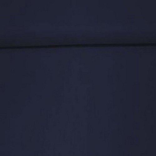 Erstklassiger Baumwollstoff, Uni, Kleider-, Dekostoff, 100{cc96c035ee5edb2ec661747dcd1ddb7f3f6a297b97c8b87cf18f2478f8a2bd53} Baumwolle, Meterware, 1fm, Breite 160cm – dunkelblau
