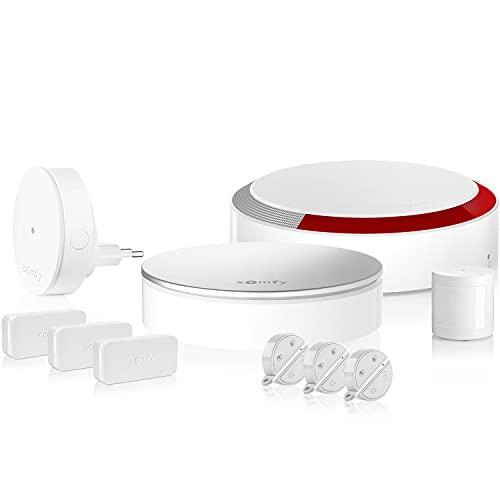 Somfy 1875230 - Home Alarm Plus   Alarme maison sans fil connectée avec sirène extérieure   Somfy Protect   Compatible avec Amazon Alexa, l'Assistant Google et TaHoma