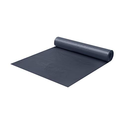 BMD PE Baufolie TYP 100 schwarz 4mx25m (100m²) Schutzfolie Abdeckfolie...