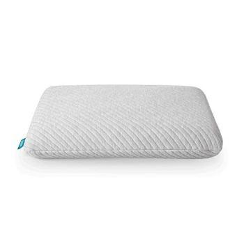 Leesa Standard Size Cooling Foam Pillow for Sleeping Gray, Grey