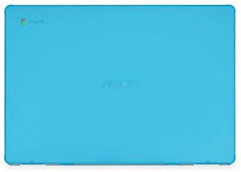 mCover Hard Shell Case for 15.6-inch ASUS Chromebook C523NA Series Laptop - ASUS C523 Aqua