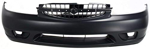 Front Bumper Cover Compatible with NISSAN ALTIMA 2000-2001 Primed XE/GXE/GLE Models