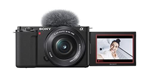 Sony Alpha ZV-E10   Appareil photo vidéo hybride APS-C Vlog avec...