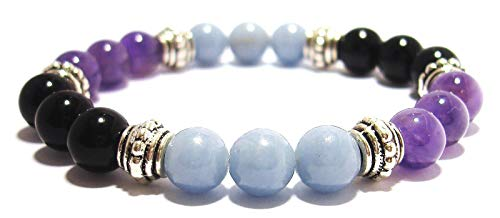 PHYSICAL PAIN RELIEF 8mm Crystal Healing Gemstone Intention...