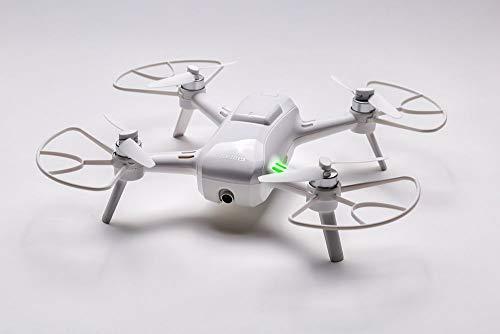 Yuneec Breeze - Quadricottero compatto con fotocamera Premium 4K UHD (24 cm di diametro, funzione video, 13 MP) e set controller e 1 batteria, bianca