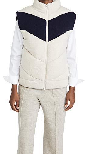 31 Shell: 50% wool/45% nylon/5% cashmere Fabric: Heavyweight knit Fill: 100% polyester
