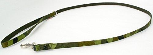 ゴロにゃんオリジナルハーネス・ダブルブロックタイプ用 リード アニマルシリーズ 迷彩柄/緑 ワンサイズ