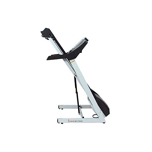 Sunny Health & Fitness SF-T7515 Smart Treadmill with Auto Incline, Sound System, Bluetooth and Phone Function 8