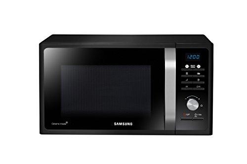 Samsung Forno a Microonde Grill Combinato da 800 W con Grill e Piatto Doratore Crusty, 23 Litri, Nero