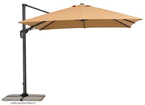Schneider Schirme Sonnenschirm Rhodos Twist, sand, ca....