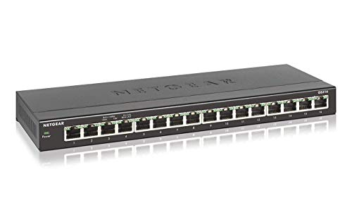 Netgear GS316 Switch Ethernet 16 porte Gigabit,...