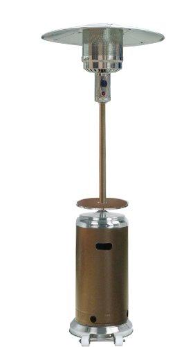 Hiland 48,000 BTU Propane Patio Heater with Wheels