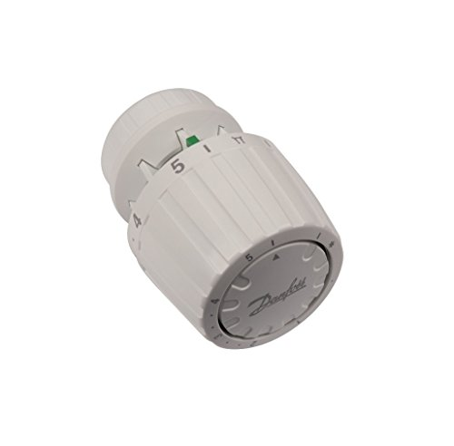Danfoss 013G2990 RA 2990 tete thermostatique technologie gaz, Blanc