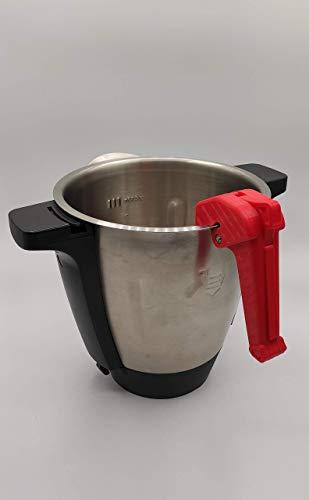 Dartech Carbono - Asa desmontable para Monsieur Cuisine Connect (robot cocina MCC Lidl) - Varios colores diponibles