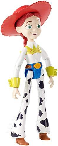 Disney Toy Story 4 Figura Jessie, juguetes niños + 3 años (Mattel GGX36)