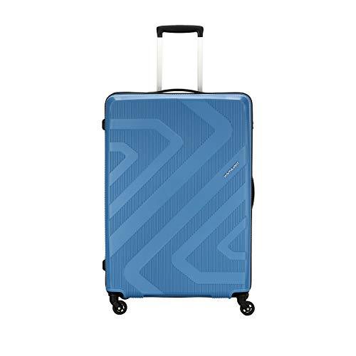Kamiliant by American Tourister KAM Kiza Polypropylene 68 cms Ash Blue Hardsided Check-in Luggage...