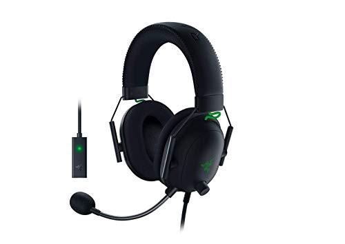 Razer BlackShark V2 Gaming Headset: THX 7.1 Spatial Surround Sound -...