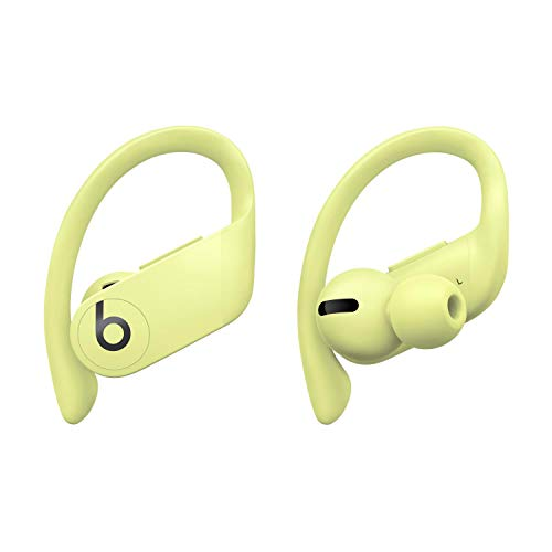 Powerbeats Pro Wireless Earphones – Apple H1 headphone chip, Class 1 Bluetooth®, 9 hours of listening time, sweat-resistant earbuds – Spring Yellow
