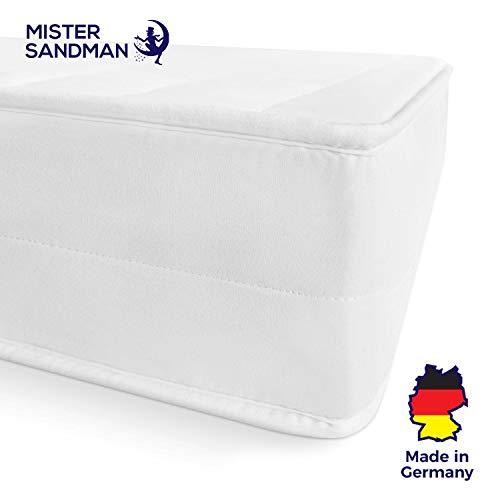 Mister Sandman 7-Zonen Kaltschaummatratze mit Mikrofaserbezug (180 x 200 cm, H3)