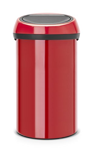 Touch bin 60 L / Passion red