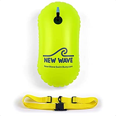 New Wave Swim Bubble is the ultralight swim buoy that provides a safe way to float and rest during your swims. New Wave Swim Bubble is the best open water swim buoy for those looking for a simple swimming buoy without any additional weight-adding fea...