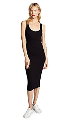 Ethically crafted in Los Angeles from the most touchable fabrics Everyday luxury, an essential piece to live in. Comfort and versatility come together in one Enza Costa silhouette The stretch silk rib tank dress is a streamlined and flattering silhou...