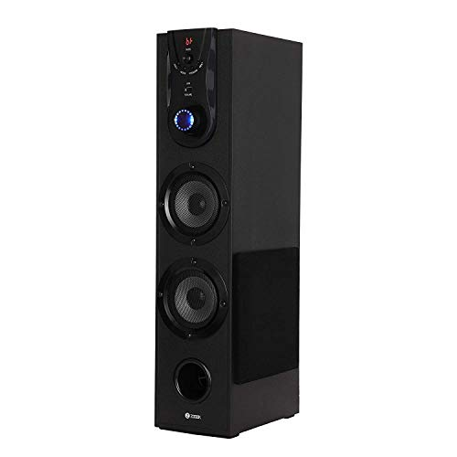 Zoook Gladiator 55W Bluetooth Tower Speaker with USB, FM, Bluetooth/Remote Control/Home...